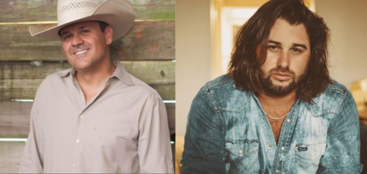 Roger Creager and Koe Wetzel