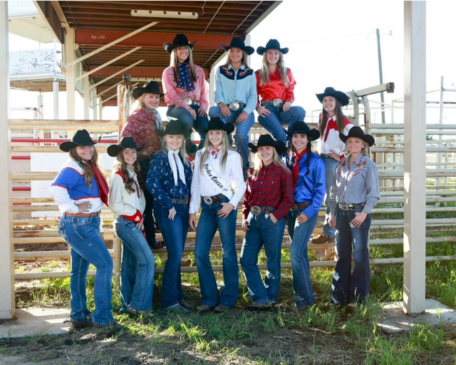Coleman County Cowgirls 2019