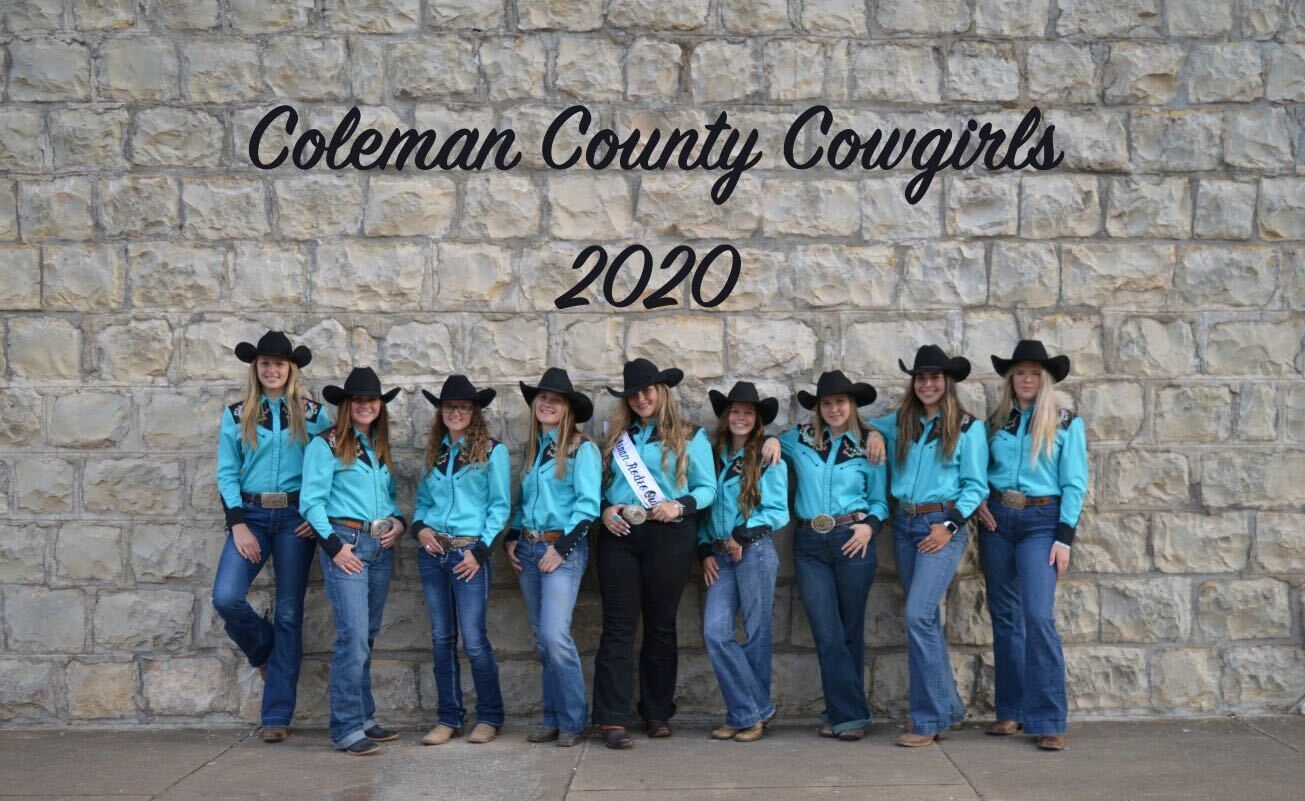 Coleman County Cowgirls 2020